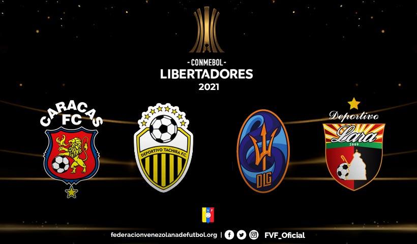 Resultado de imagen para equipos venezolanos ya conocen sus rutas para libertadores y sudamericana 2021